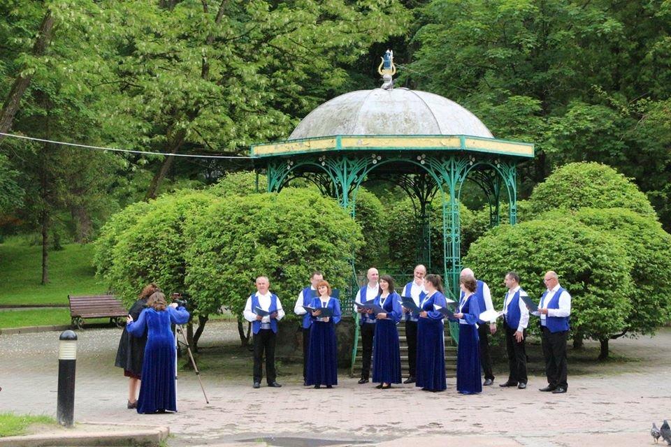 У Трускавці знімають онлайн-концерт до Дня міста, фото-1, фото - Трускавецька міськрада