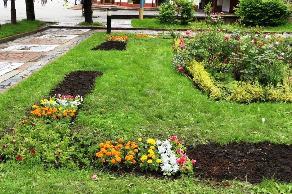 Квітковий Трускавець: місто-курорт озеленюють (Фото), фото-4, фото - Трускавецька міська рада