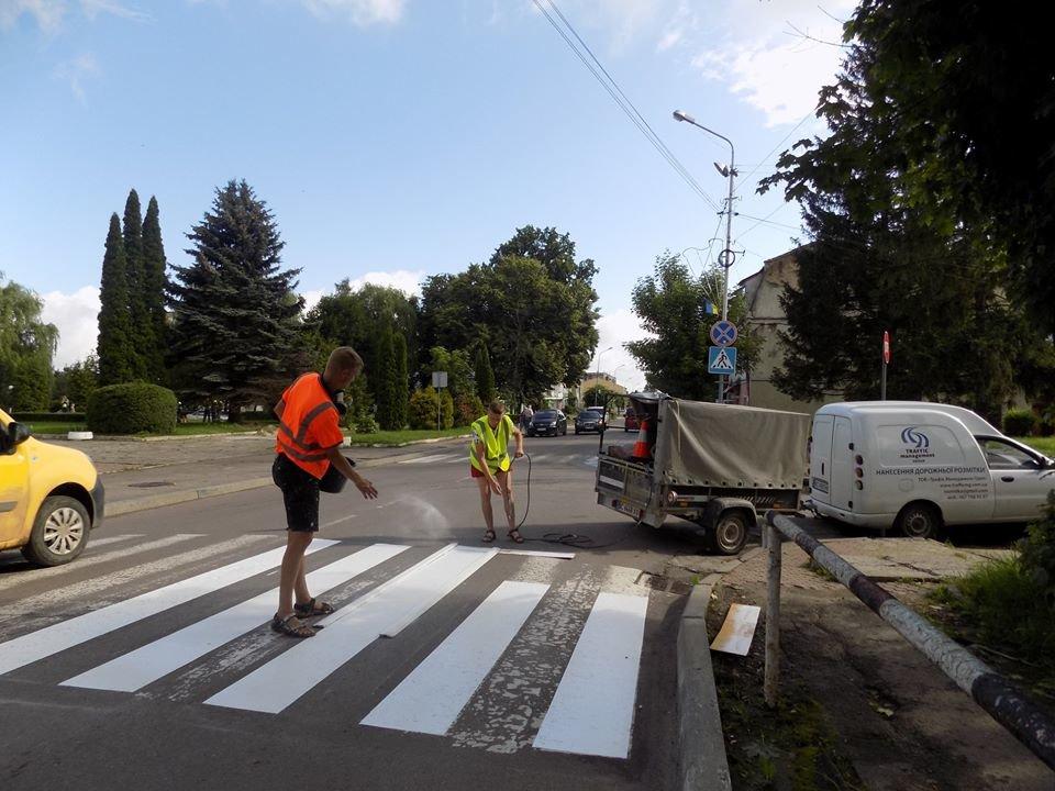 У Бориславі оновлюють пішохідні переходи (Фото), фото-3, фото - Бориславська міська рада