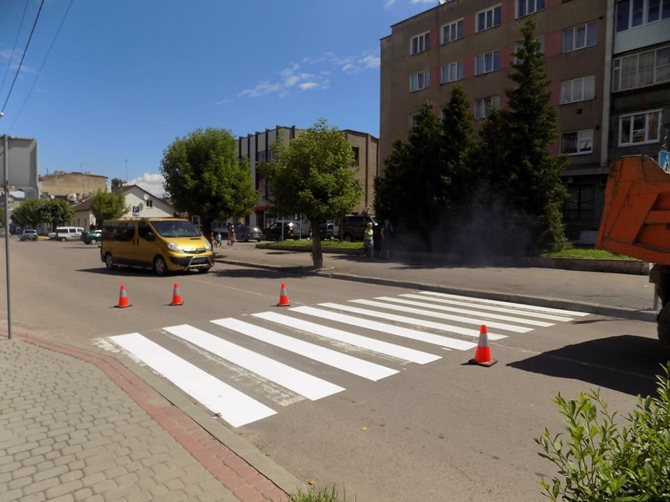 У Бориславі оновлюють пішохідні переходи (Фото), фото-1, фото - Бориславська міська рада