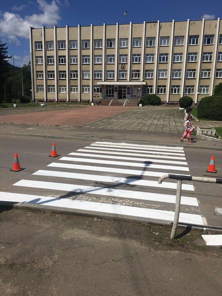 У Бориславі оновлюють пішохідні переходи (Фото), фото-6, фото - Бориславська міська рада