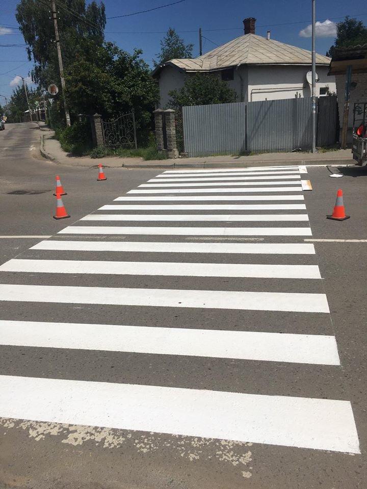 У Бориславі оновлюють пішохідні переходи (Фото), фото-4, фото - Бориславська міська рада