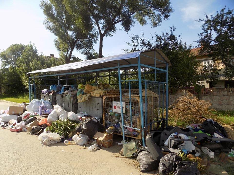 У Бориславі переповнені сміттєві контейнери (ФОТО), фото-10, фото - Бориславська міська рада