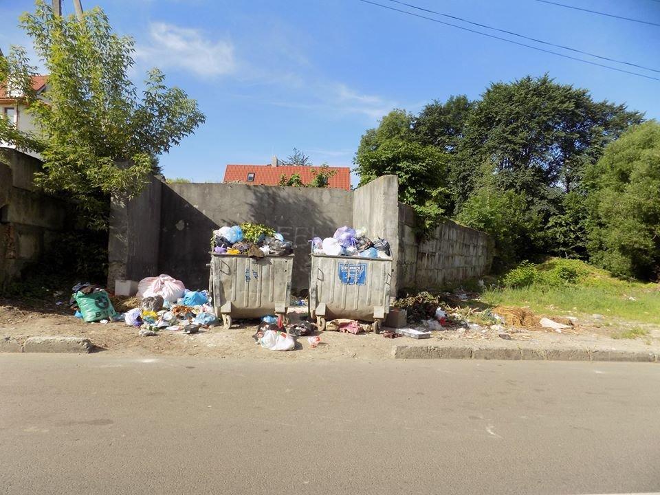 У Бориславі переповнені сміттєві контейнери (ФОТО), фото-4, фото - Бориславська міська рада