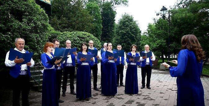 """Народний хор """"Воля"""" з Трускавця виконав пісню про місто-курорт (Відео), фото-1"""