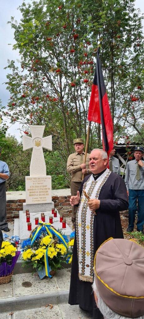 У Дрогобичі освятили пам'ятник воїнам УПА (ФОТО), фото-1, Михайло Задорожній