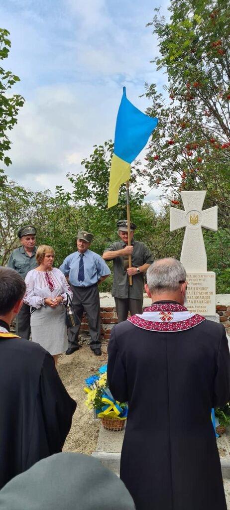У Дрогобичі освятили пам'ятник воїнам УПА (ФОТО), фото-2, Михайло Задорожній