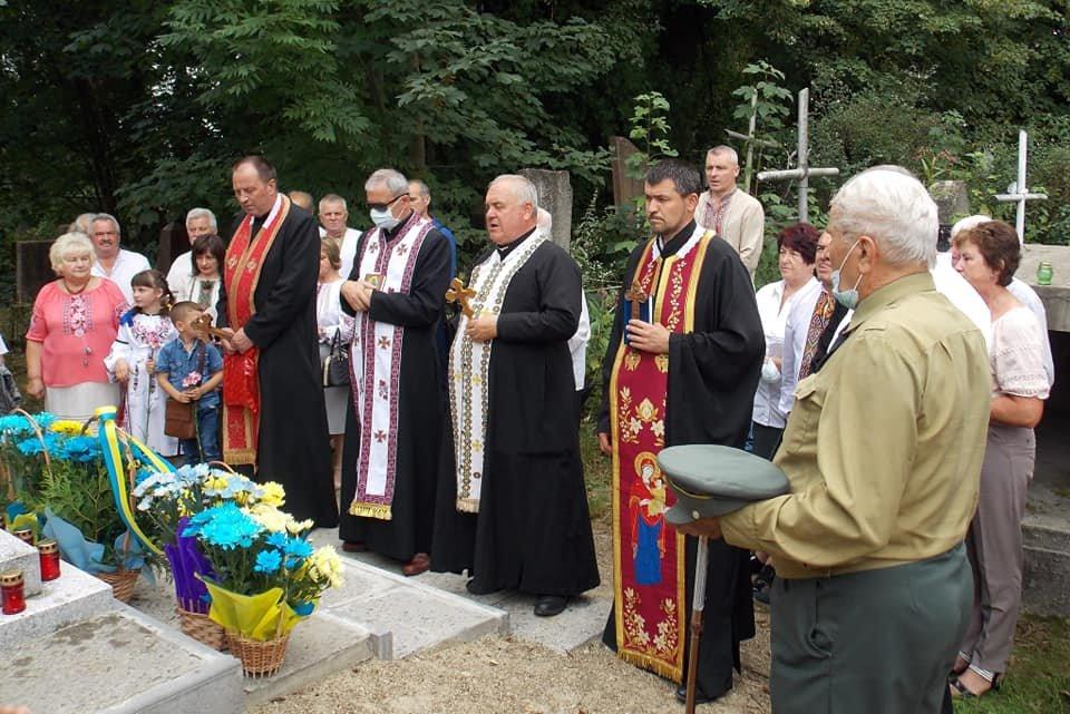 У Дрогобичі освятили пам'ятник воїнам УПА (ФОТО), фото-3, Михайло Задорожній
