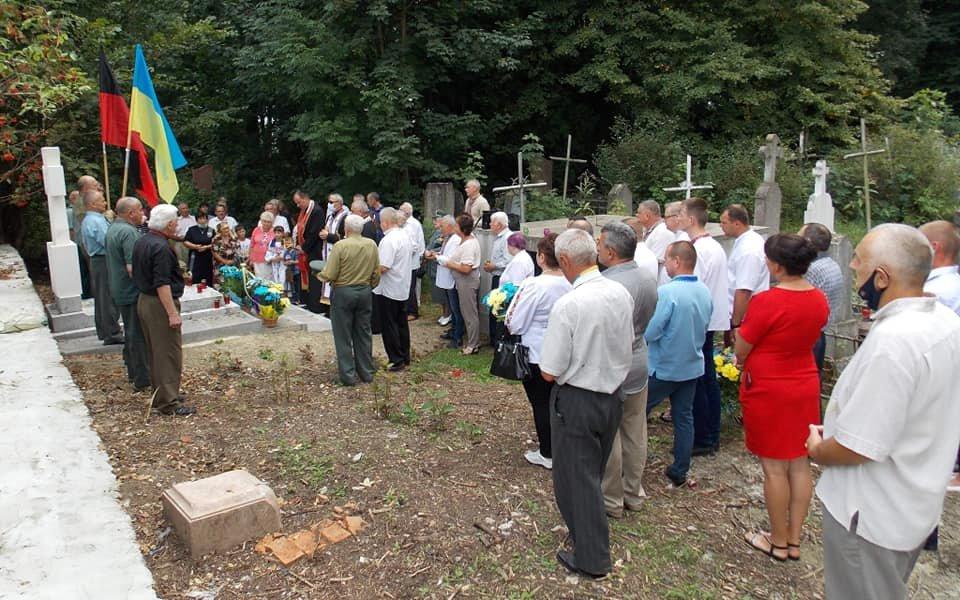 У Дрогобичі освятили пам'ятник воїнам УПА (ФОТО), фото-5, Михайло Задорожній