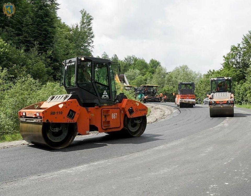 Дорогу Борислав - Східниця повністю завершать через кілька тижнів: фото, фото-3