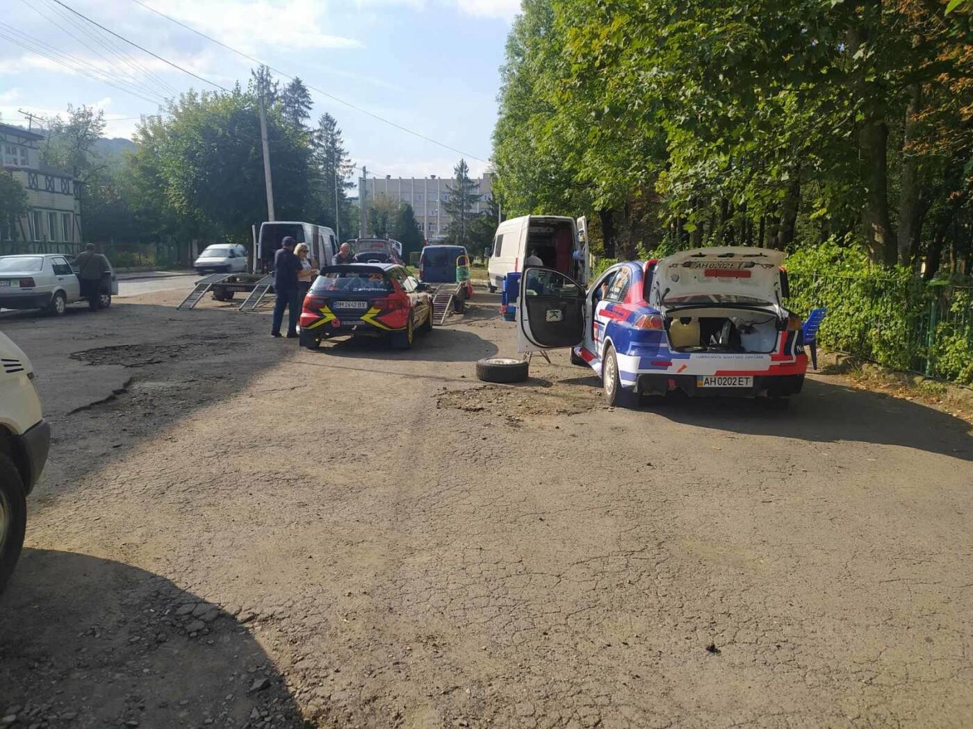 В Бориславі триває підготовка до раллі: старт через лічені хвилини, фото-1