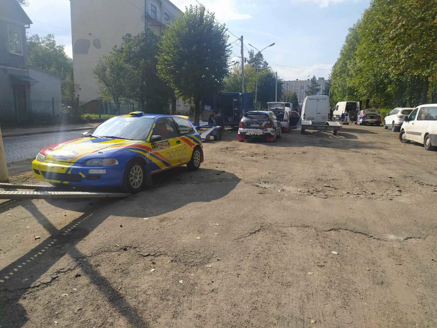 В Бориславі триває підготовка до раллі: старт через лічені хвилини, фото-2