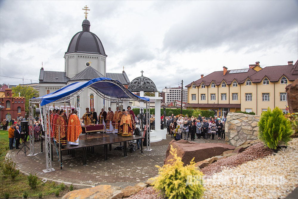 У Трускавці відкрили копію Гробу Господнього: фото з місця, фото-1