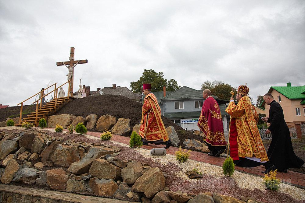 У Трускавці відкрили копію Гробу Господнього: фото з місця, фото-2