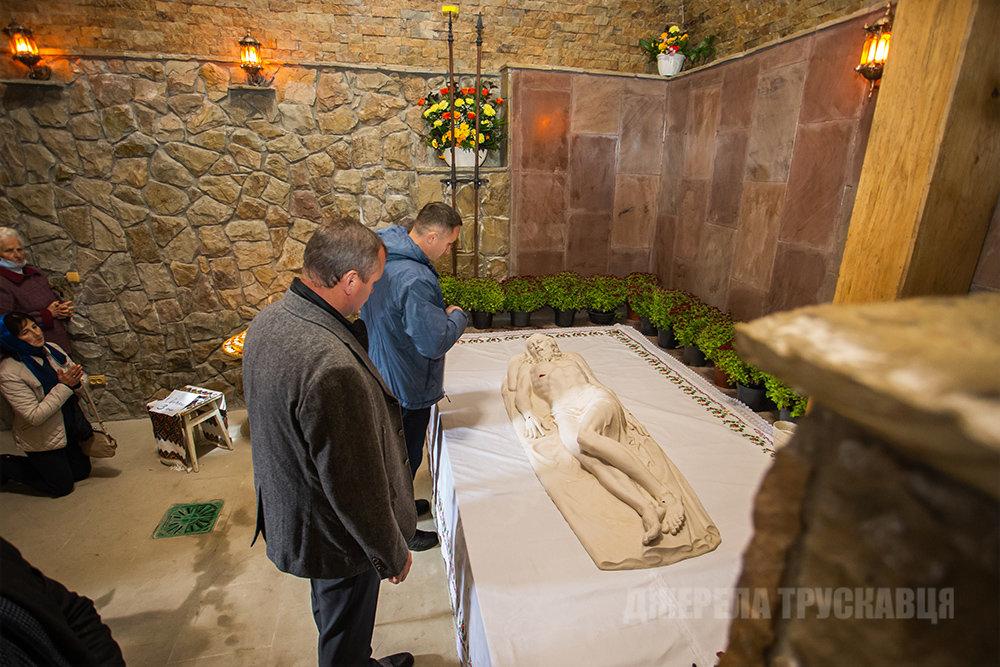 У Трускавці відкрили копію Гробу Господнього: фото з місця, фото-3