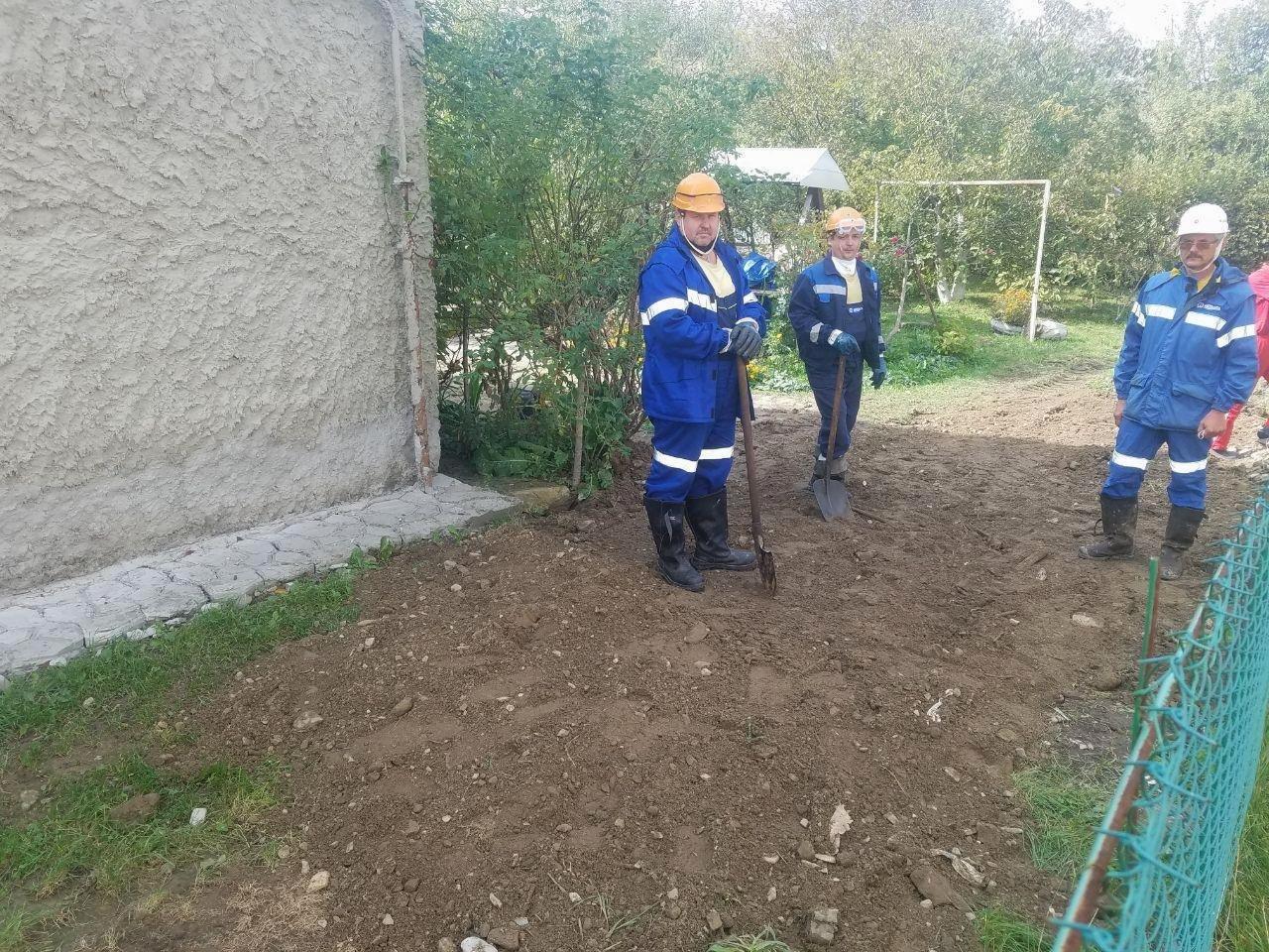 У Бориславі на приватному подвір'ї обвалилась закинута озокеритна шахта, фото-4, Фото: Укрнафта Захід