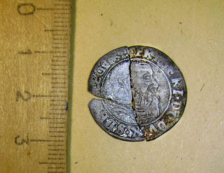 На старій дорозі біля Трускавця знайшли рідкісну монету, фото-1