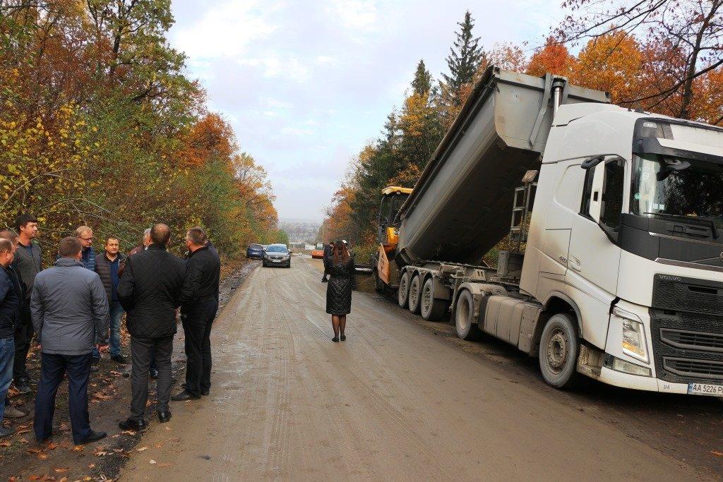 В Доброгостові починають нанесення асфальтного покриття на важливій дорозі, фото-1, Фото: Трускавецька міська рада