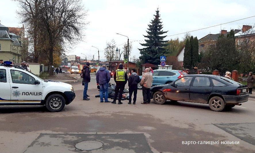 У Дрогобичі мотоцикліст влетів у легковик, фото-1