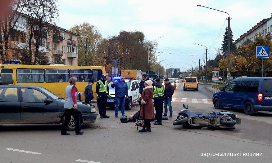 У Дрогобичі мотоцикліст влетів у легковик, фото-2